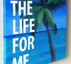 ... Canvas beaches, palm tree, craft, canvas paintings, canvas quotes, art