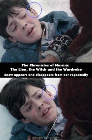 When Edmund first enters Narnia, he is attacked by the White Witch's ...