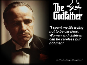 """The Godfather Quotes wallpaper Some Great Quotes from movie """"The ..."""
