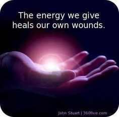 Help Heal with Our Thoughts & Deeds