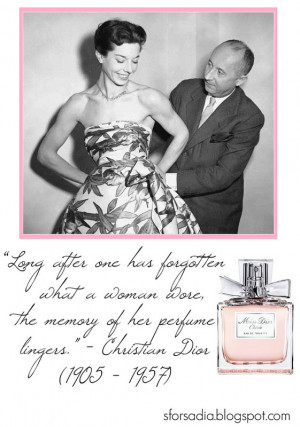 Christian Dior, Miss Dior Cherie #perfume #Dior #quote