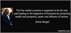 More Omar Bongo Quotes