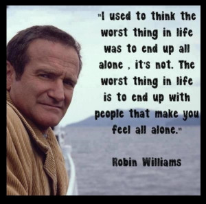 On Being Alone