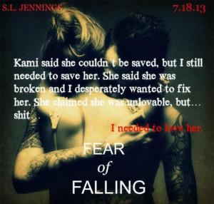 FEAR OF FALLING, 7/18