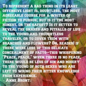 January 17 - Anne Bronte's Birthday