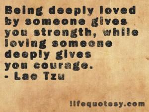 Lao tzu quotes cute love quote by lao tzu