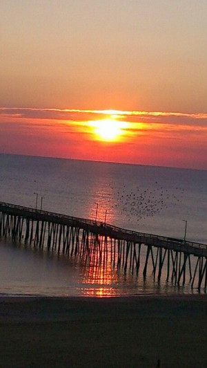 VA Beach sunrise...