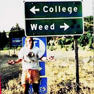 college or weed