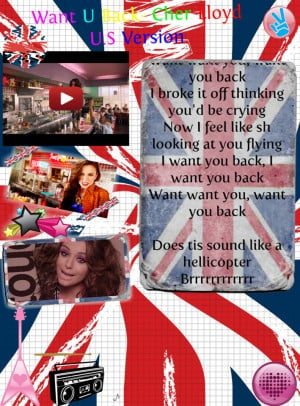 Cher Lloyd Want You Back Gifs