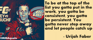 Motivational Quote from Urijah Faber