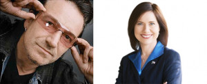 Of Bono and Elizabeth Emken