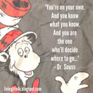 Dr. Seuss Quotes - Day 4
