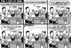 religious beliefs cartoon humor: Passover wine - 'I will buy a decent ...