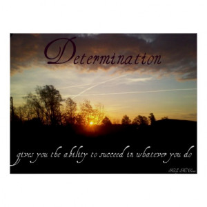 Determination Inspirational...