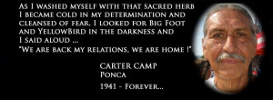 Carter Camp, Native American activist who helped lead Wounded Knee ...