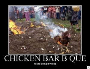 found this today over on BBQ Hub . Funny stuff!