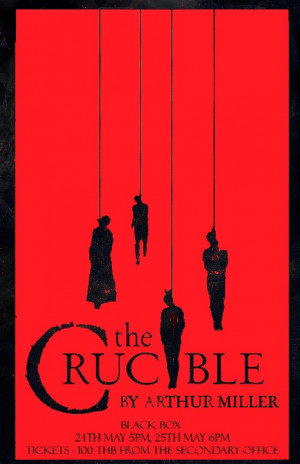 The Crucible Play Poster The crucible