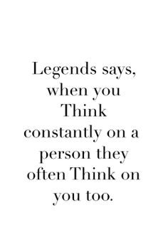 Legend says... More