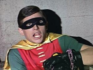 Funny Batman Fighting Robin