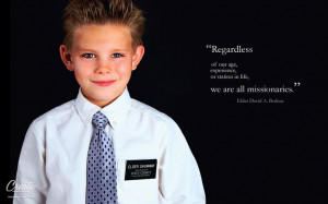 We are all missionaries... (More sizes found at: http://bit.ly/tAdx6G)