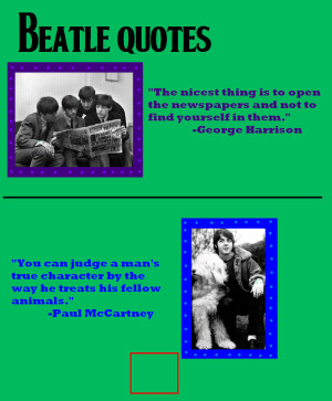 Beatles quotes 1 by BeatlesBug