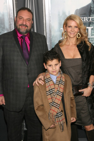 Joel Silver Pictures Joel Silver and family arrive on the the New