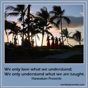 Hawaiian Love Sayings