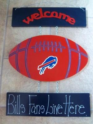 New Buffalo Bills Football Welcome Sign