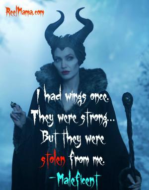 Maleficent Disney quote - Reelmama.com