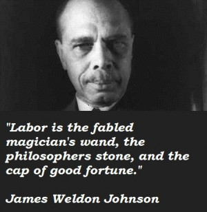 James Weldon Johnson quote