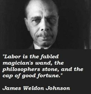 James Weldon Johnson quote