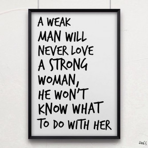 strong woman #quote