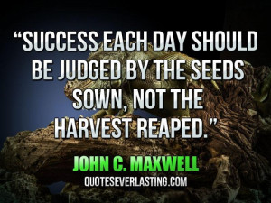 Success Each Day Should...