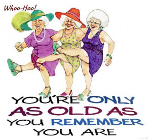 HAPPY BIRTHDAY OLD WOMAN