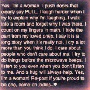 am a Women