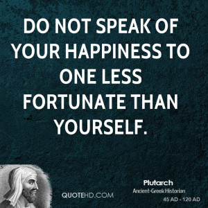 Plutarch Happiness Quotes