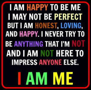 I Am Happy Images With Quotes Im Happy Being Me Quot...
