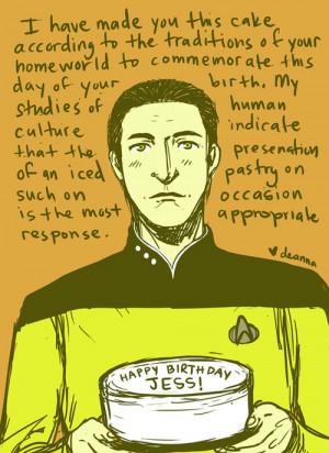 Star Trek Birthday Star Trek Happy Birthday