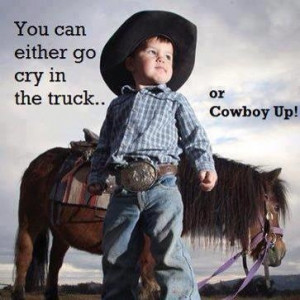 the cowboy way. too cute