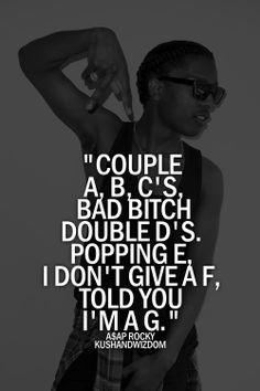 Asap Rocky Song Quotes Tumblr ~ Gallery For > Asap Rocky Quotes Tumblr