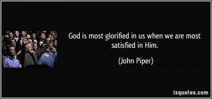 More John Piper Quotes