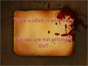 Blood Love Quotes