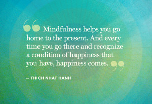 Practicing Mindful Living