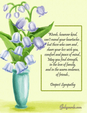 Condolence Messages Message Condolence Quotes Images - With Deepest ...