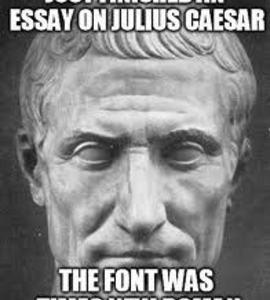 review of the book julius caesar