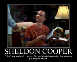 Sheldon Cooper Quotes I Told You So