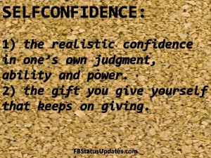 quotes about self confidence quotes on self confidence self confidence ...