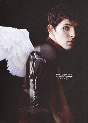 """10] merlin quotes ↳ """"Destinies are troublesome things..you feel ..."""
