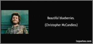 More Christopher McCandless Quotes