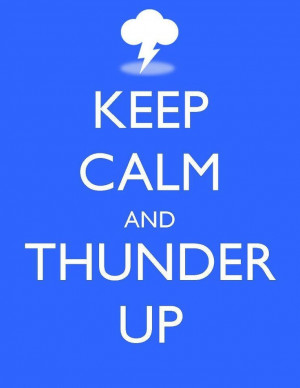 Thunder Up.. For all of us in OKC